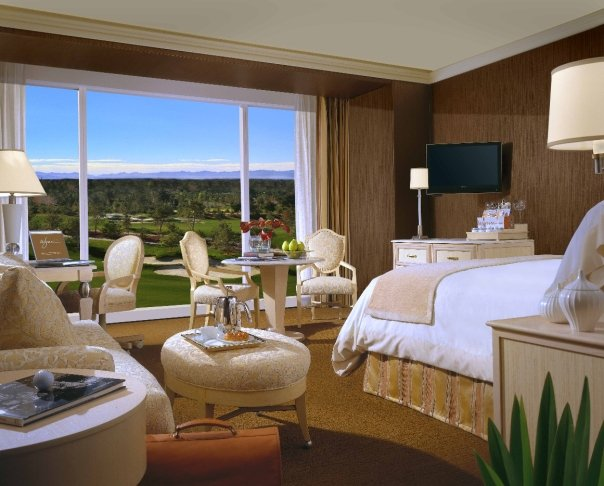 A resort room