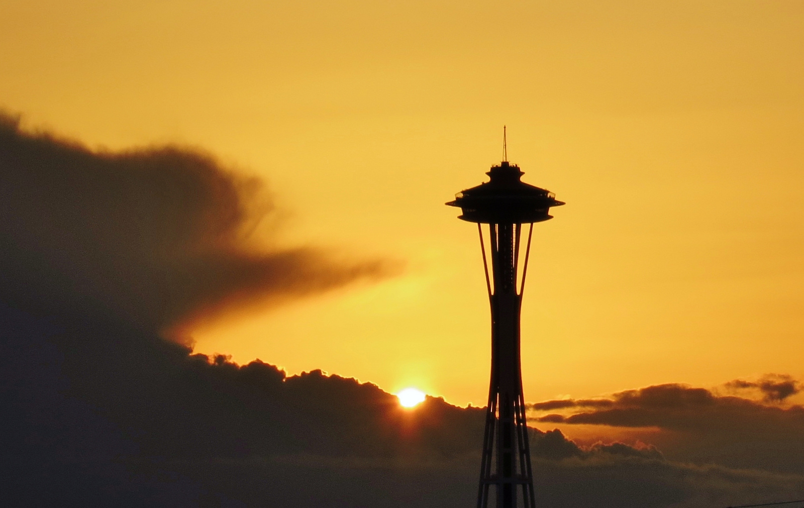 Space Needle Sunsets