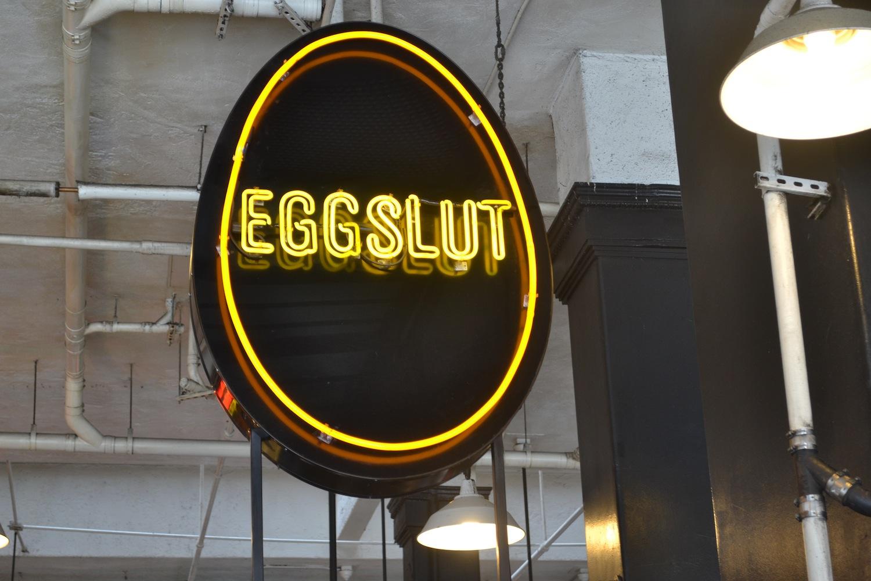 Eggslut breakfast Los Angeles