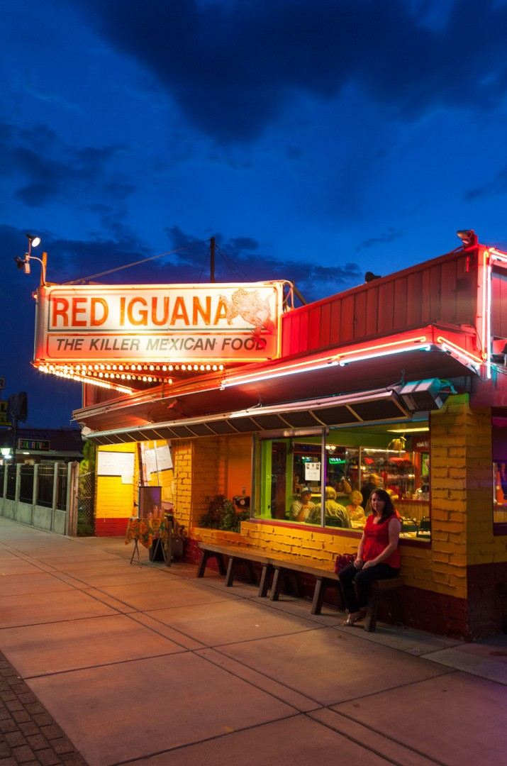 Eat at the Red Iguana in SLC