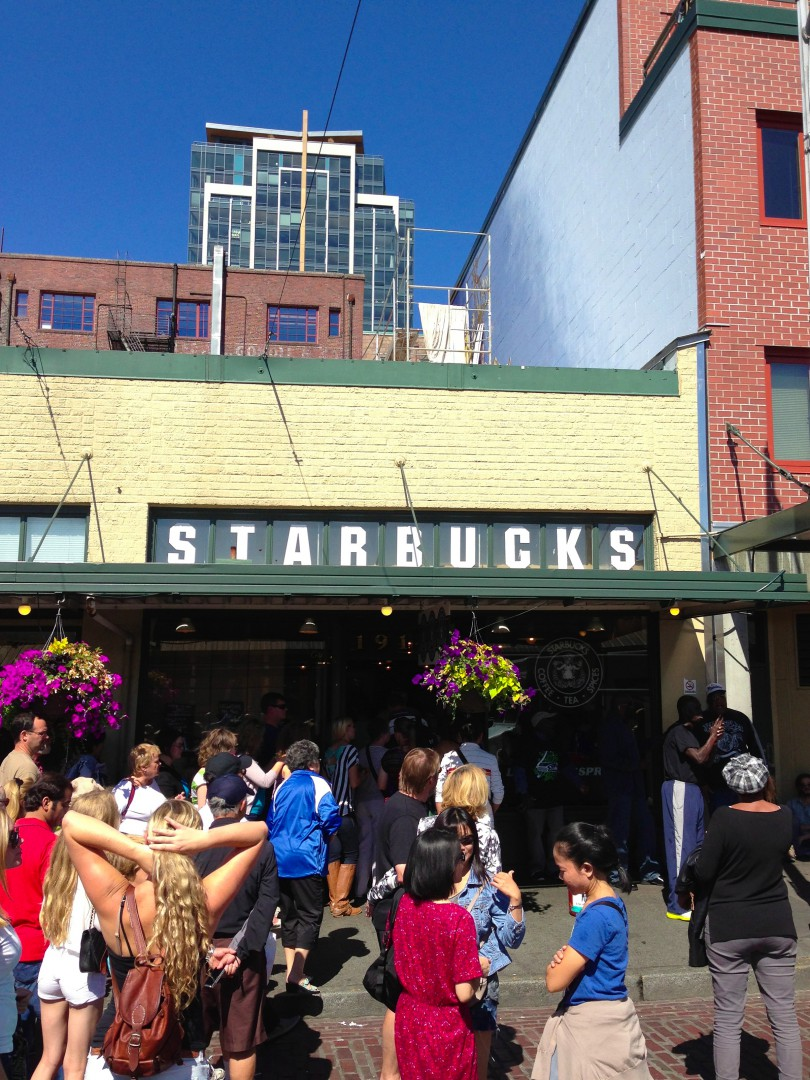 The Original Starbucks in Seattle