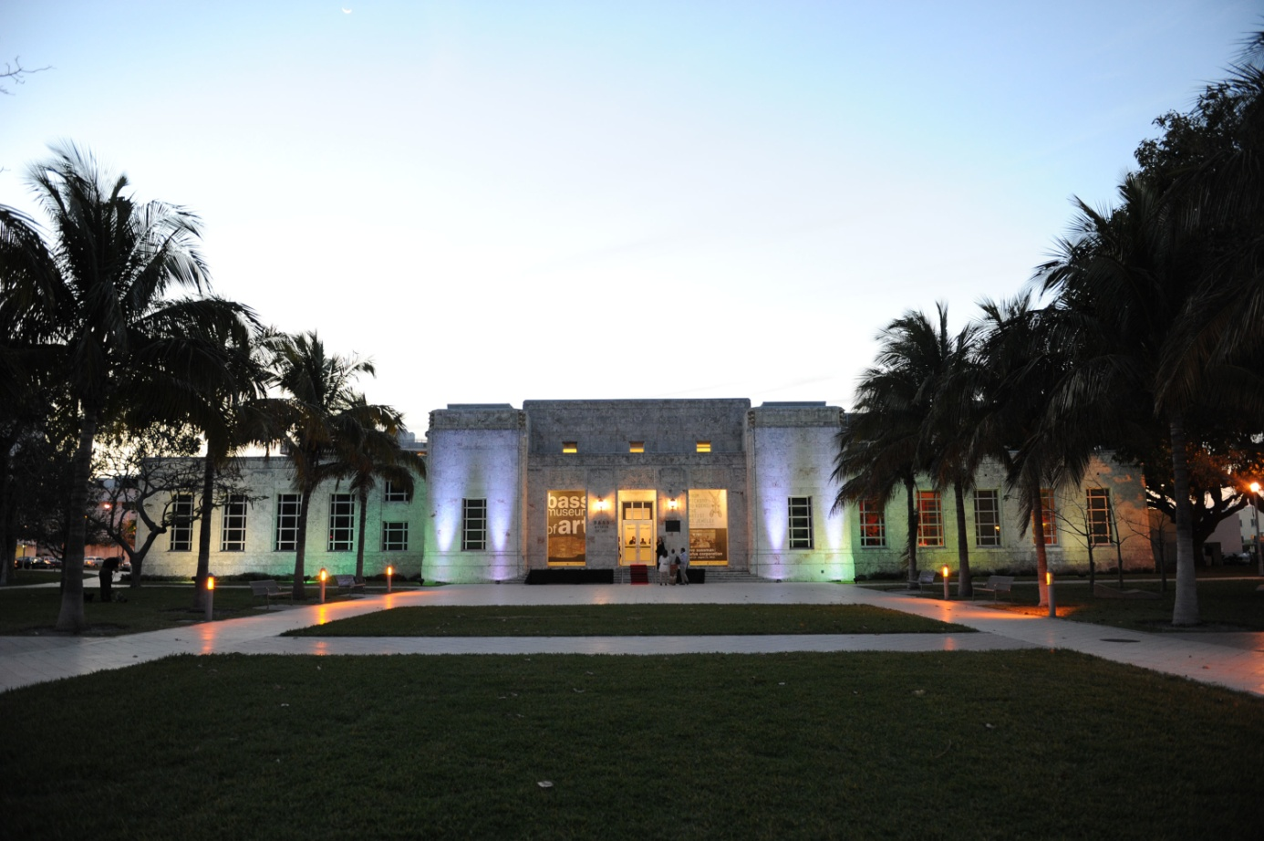 The Miami Beach Public Library and Art Center