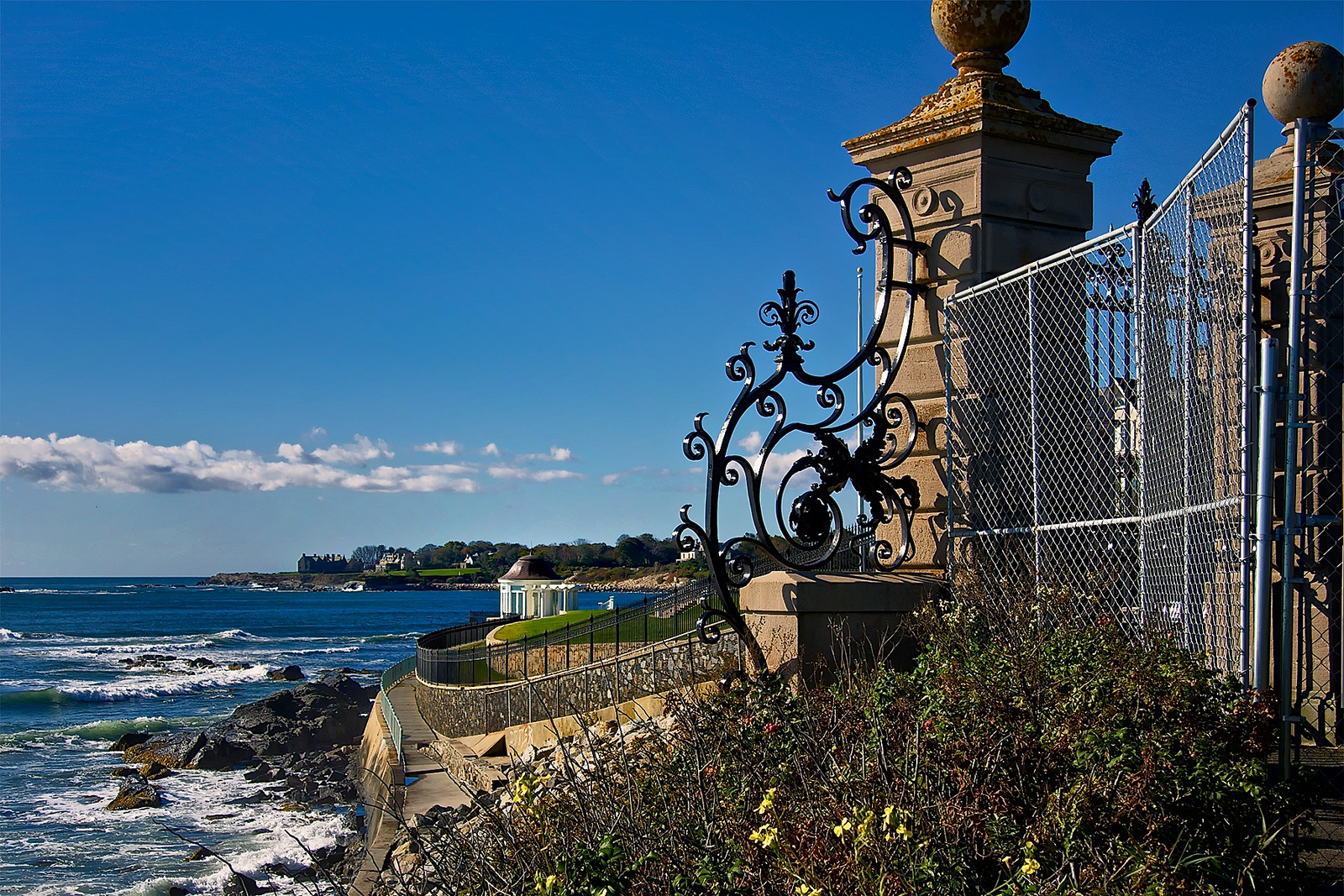 Cliff Walk Newport RI