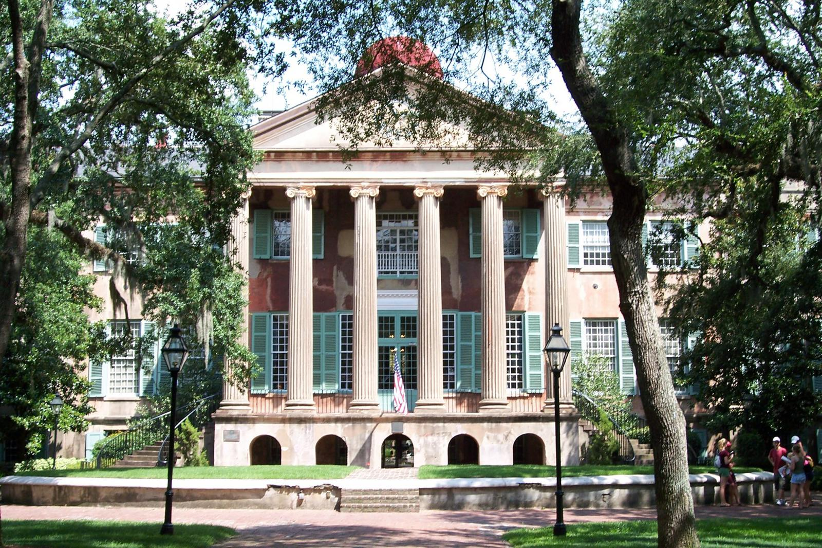 College of Charleston The Notebook