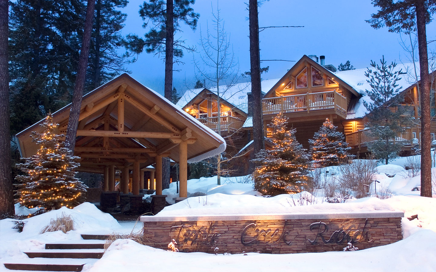 America S Best Luxury Rustic Lodges And Resorts
