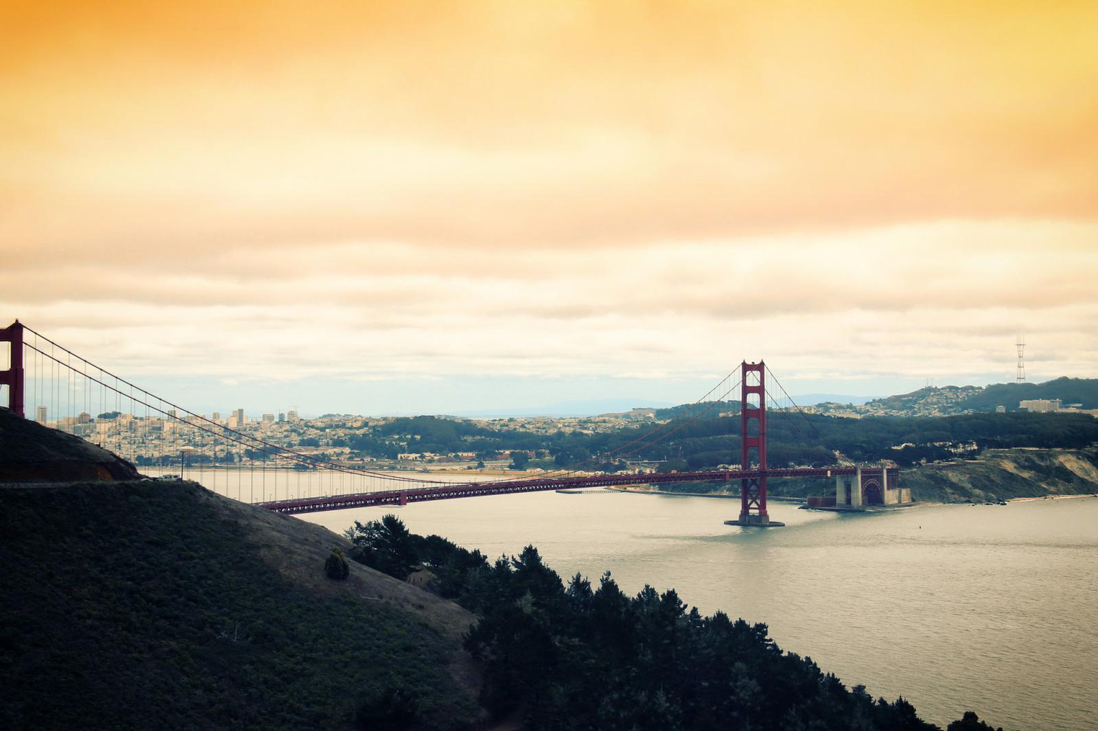 Most Romantic Cities USA San Francisco