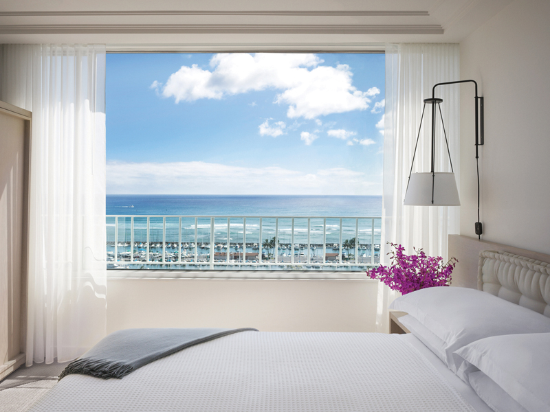 Romantic hotels Modern Honolulu