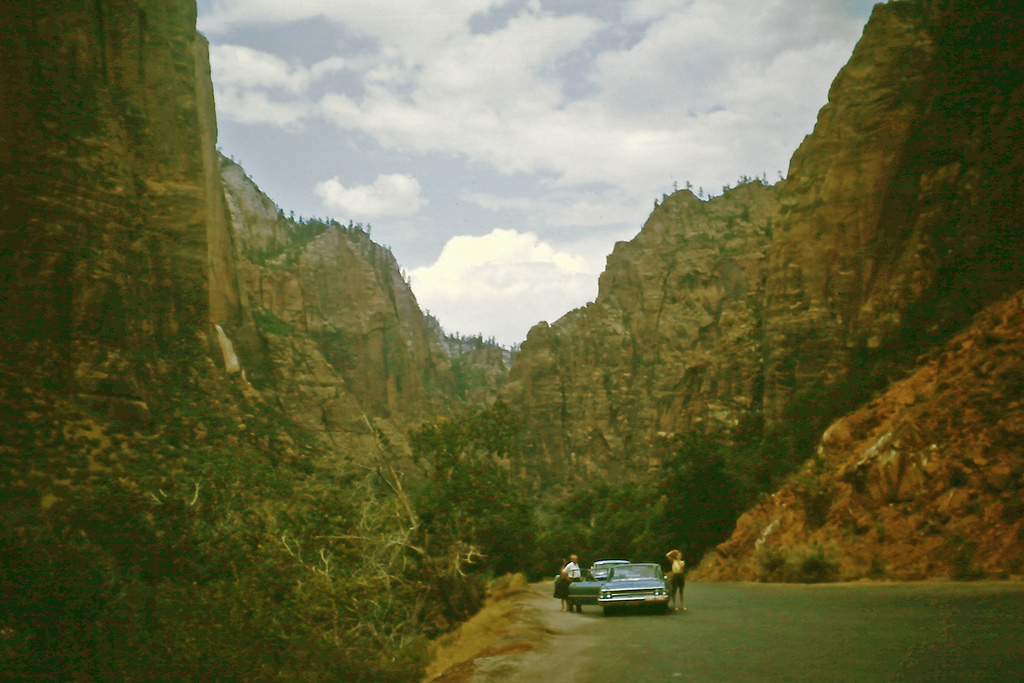 Zion National Park in 1965