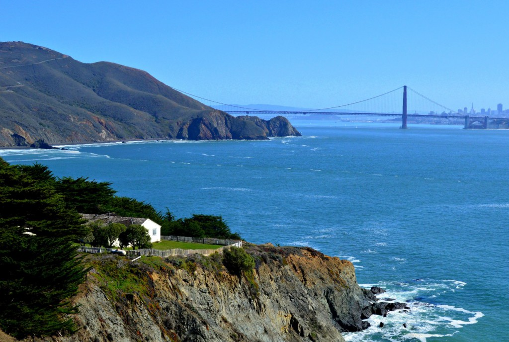 View of the Golden Gate from Point Bonita