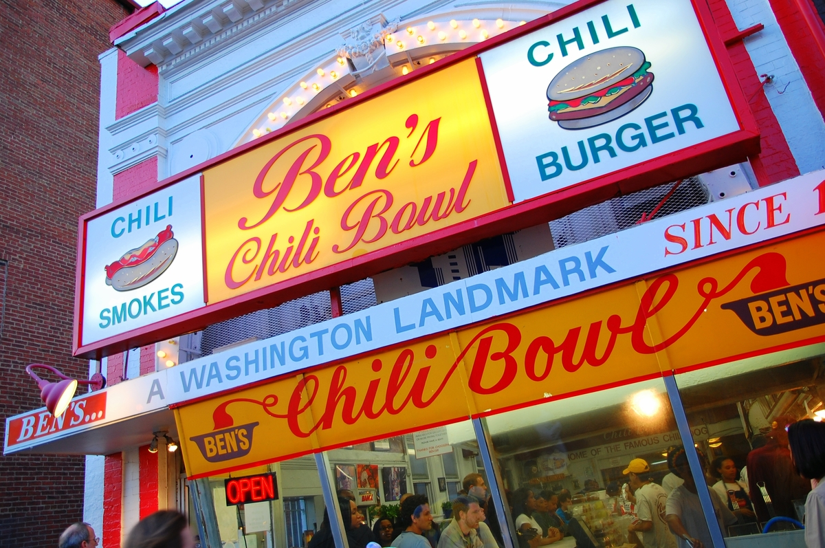 Ben's Chili Bowl Burger