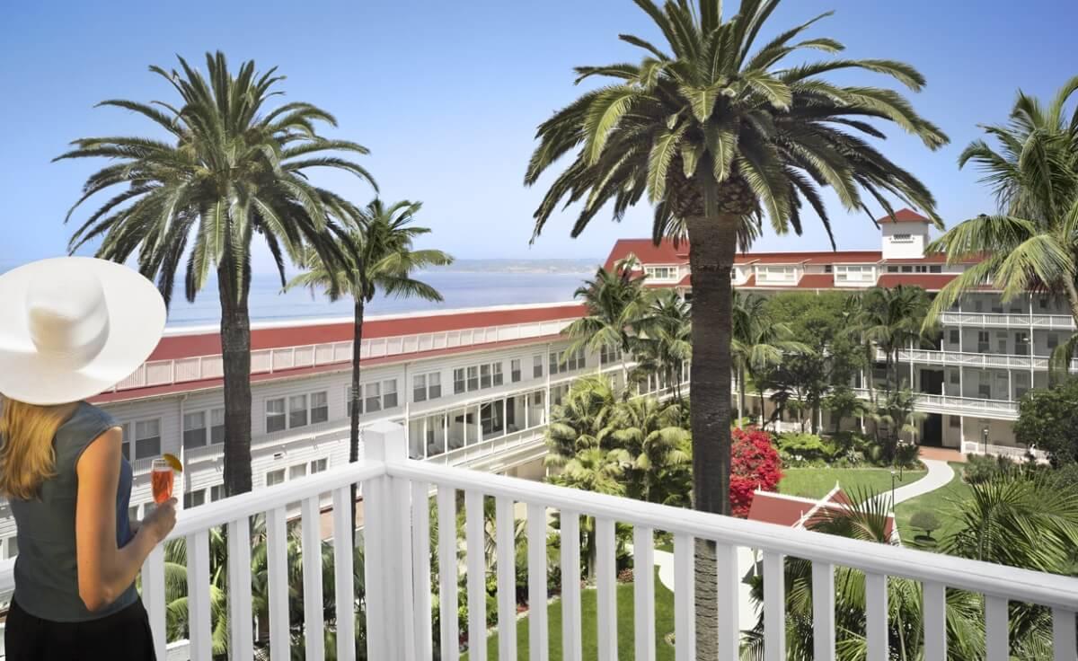 Historic American hotels Del Coronado San Diego