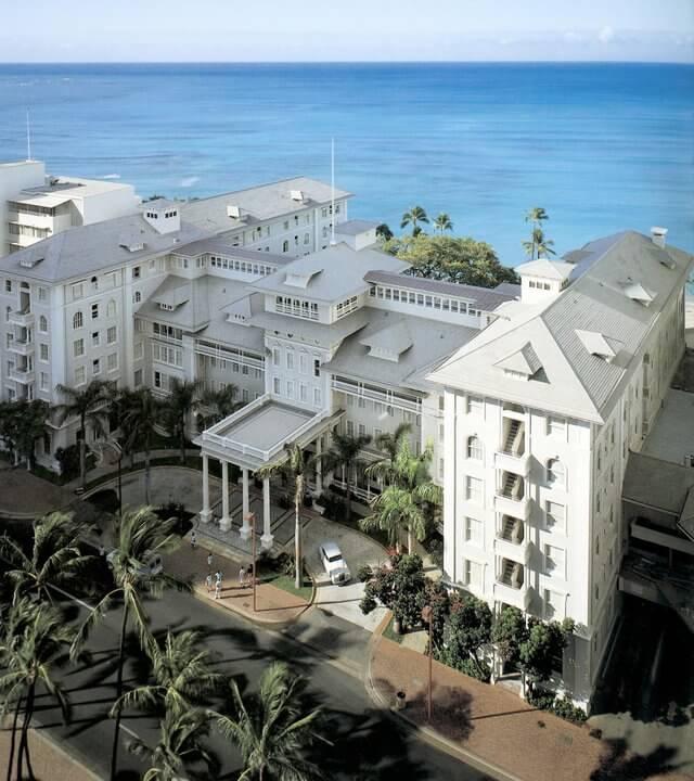 Historic Hawaiian hotels Moana Surfrider Hawaii