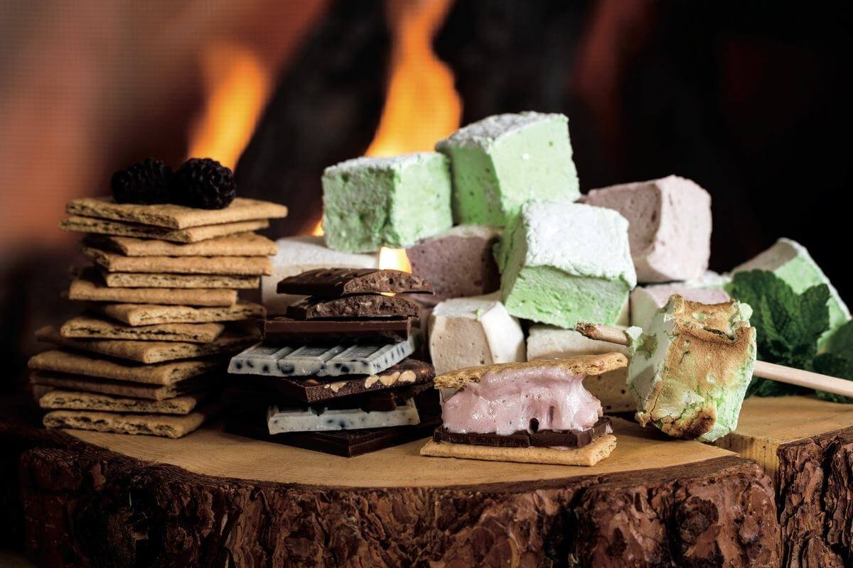 S'more specialist at the Ritz-Carlton
