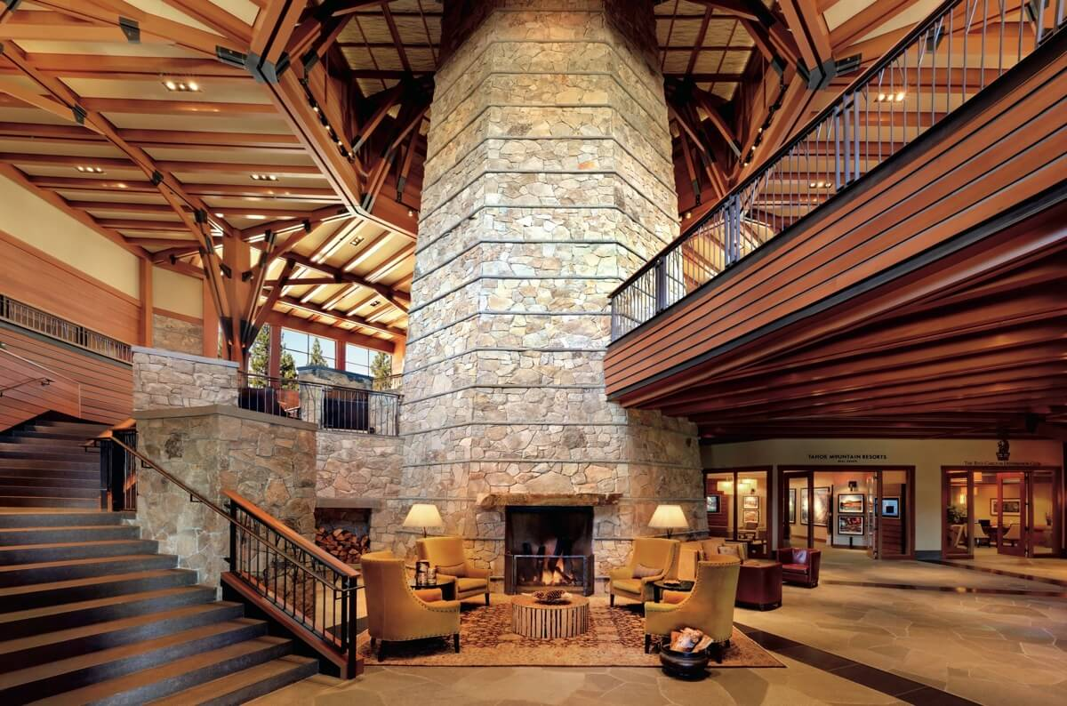 Ritz-Carlton Lake Tahoe Lobby