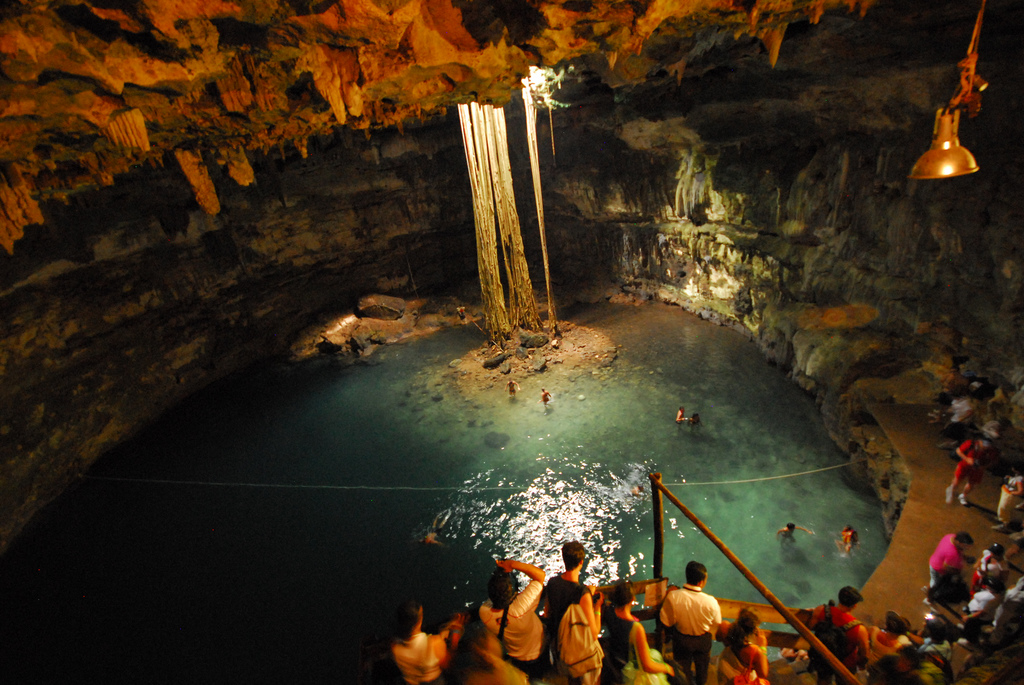 Dive Right into this Cenote in Cancun