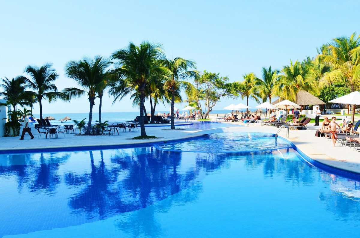 Relax By the Pool in Puerto Vallarta