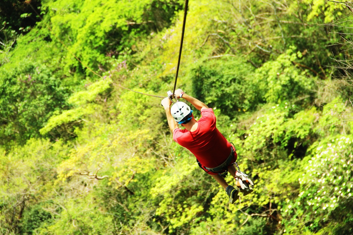 Ziplining in Puerto Vallarta