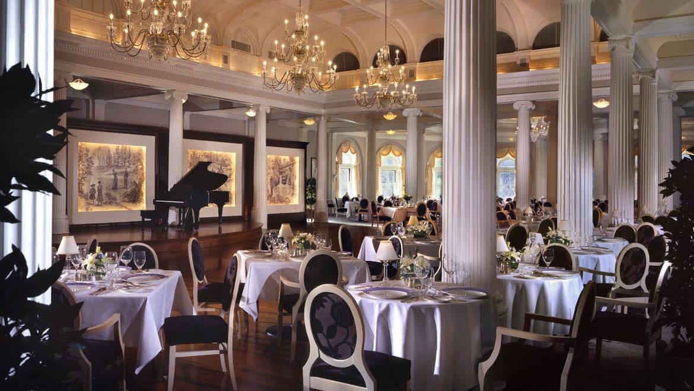 Historic American Hotels Omni Homestead Virginia