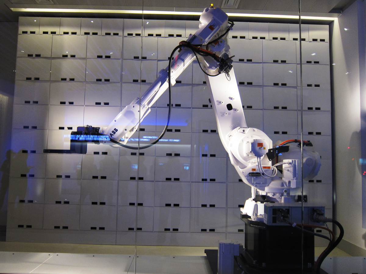 Yotel New York City Robot
