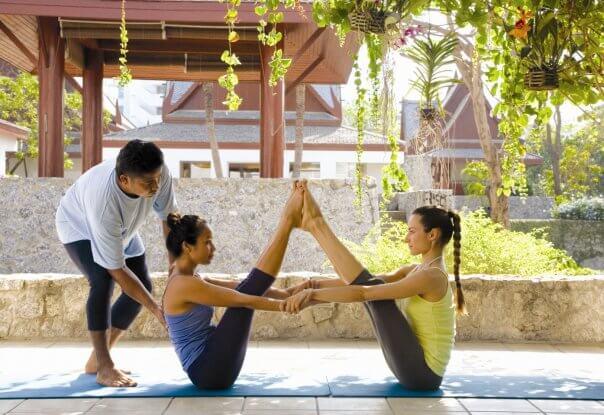Yoga resort Thailand