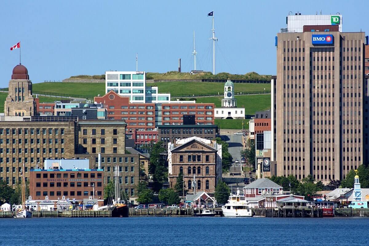 Halifax Canada Waterfront Shopping