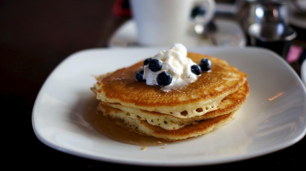 pancakes post workout