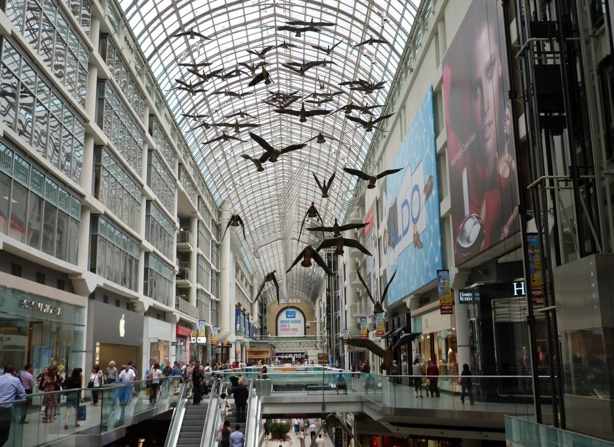 Eaton Center Toronto Shopping Canada
