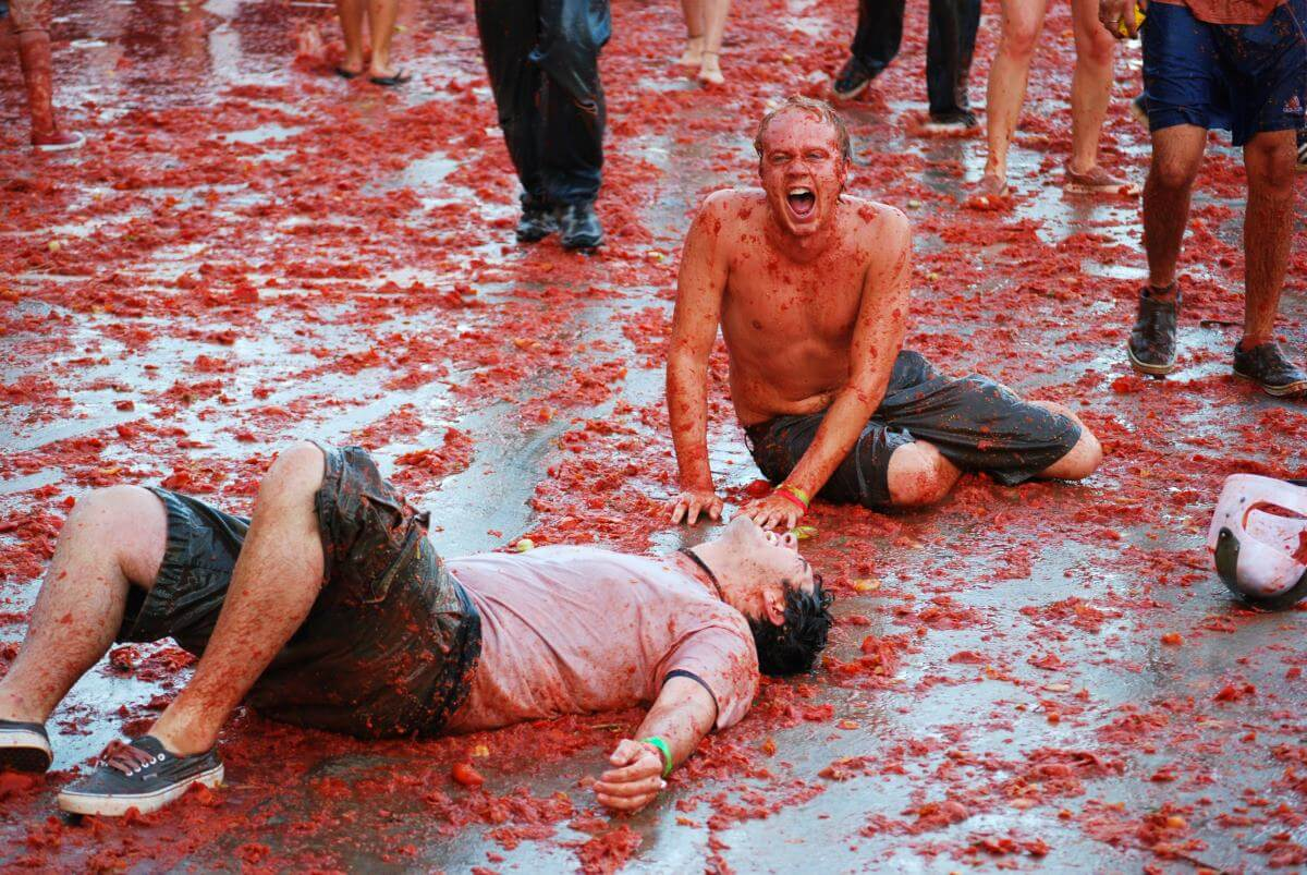 What you need for La Tomatina
