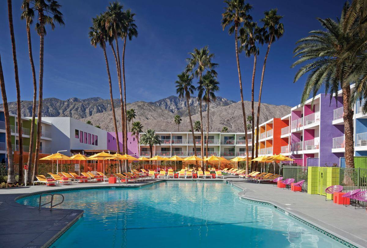 Boutique hotel Palm Springs