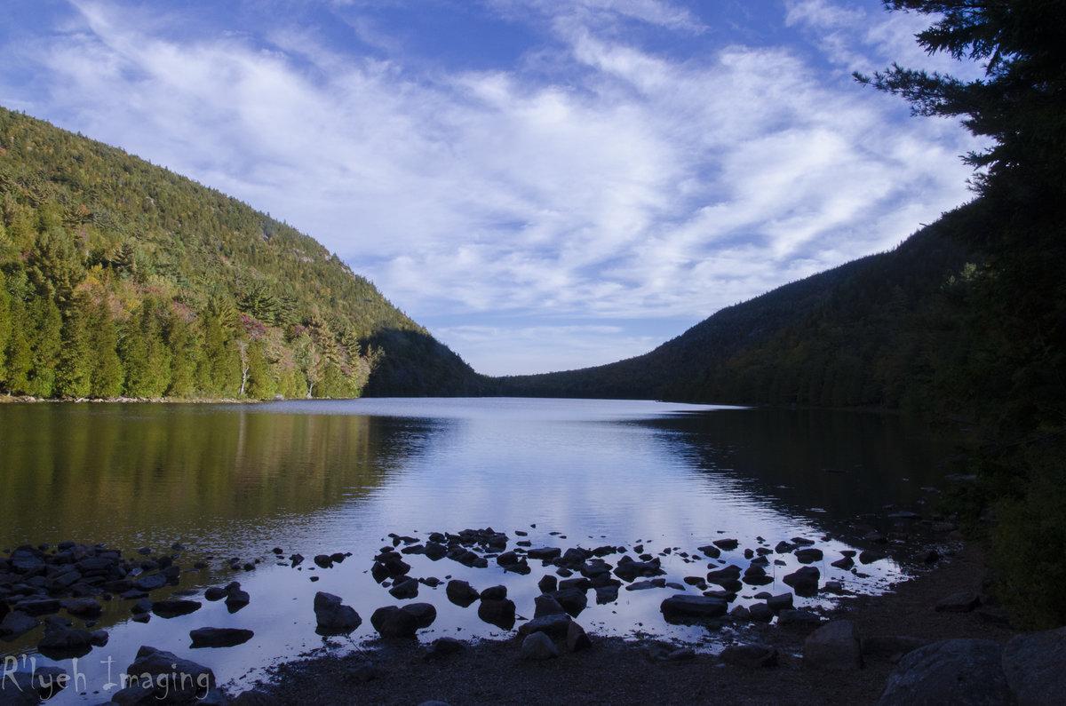 Maine Acadia National Park Summer