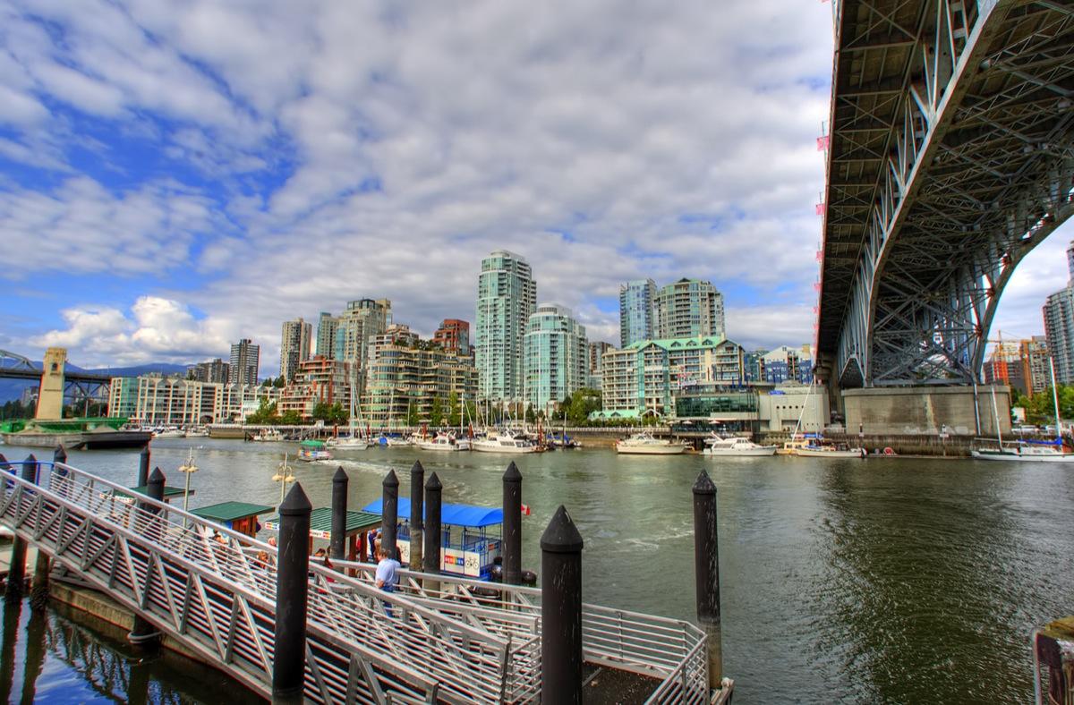 Vancouver Island Ferry Dock