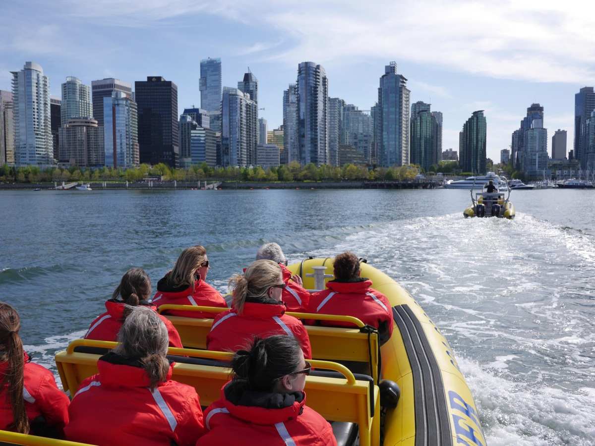 Water sports Vancouver