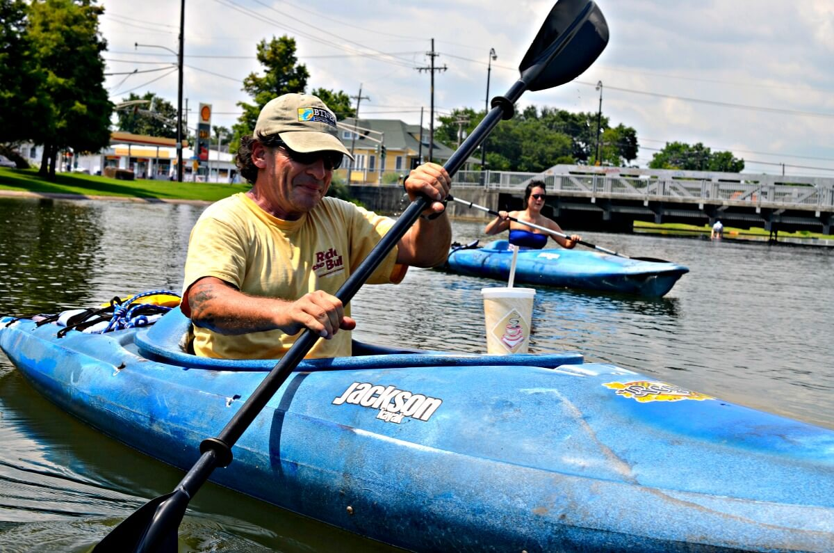 Kayaking tours in New Orleans