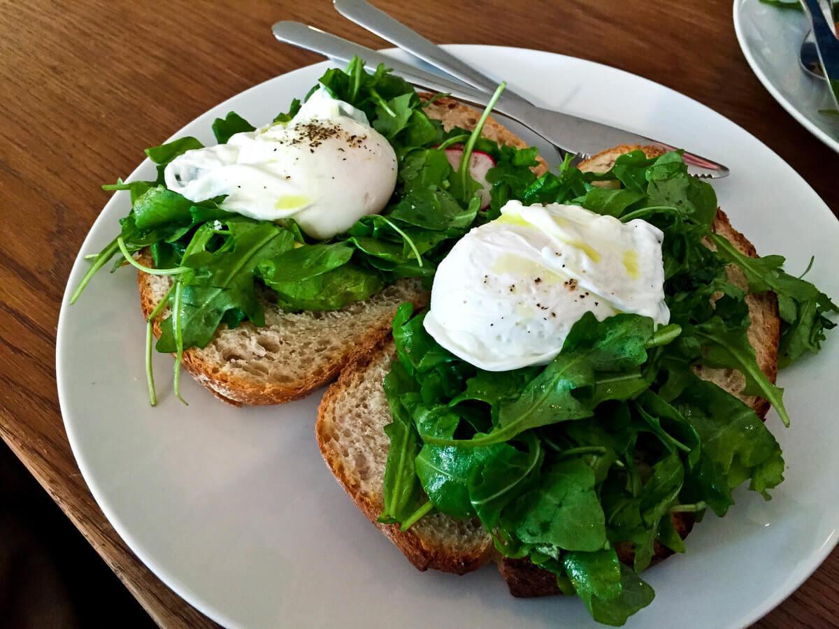 Eggs Benedict in Seattle