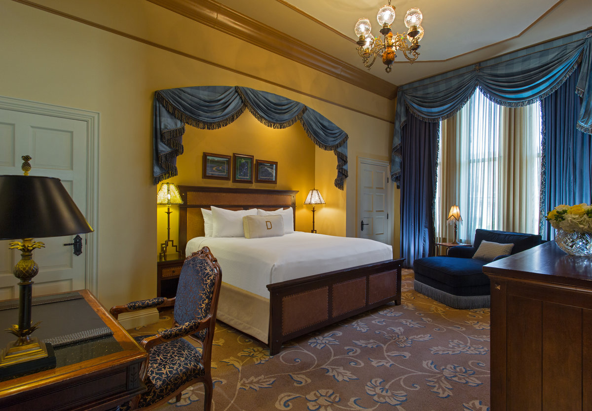 Driskill Hotel Austin LBJ Bedroom
