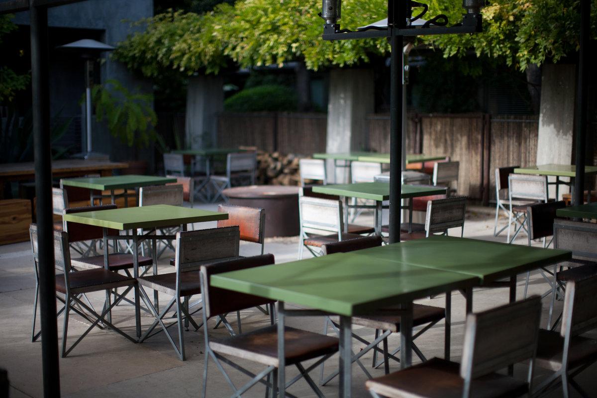 Hotel San Jose Austin Outdoor Lounge