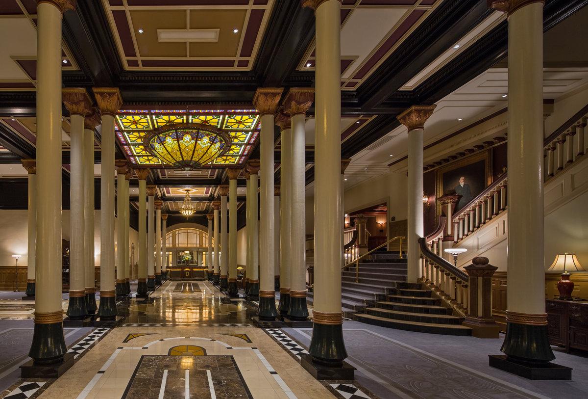 Driskill Hotel Austin Lobby
