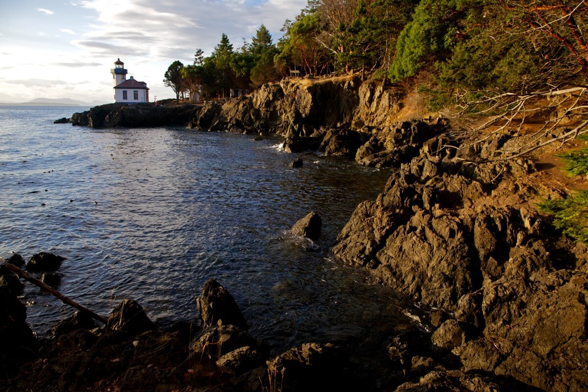 Park on the San Juan Islands