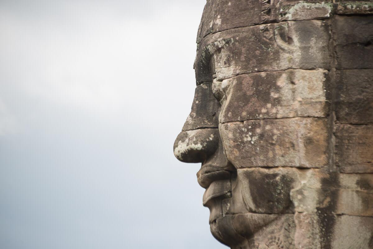 Ankor Wat Face