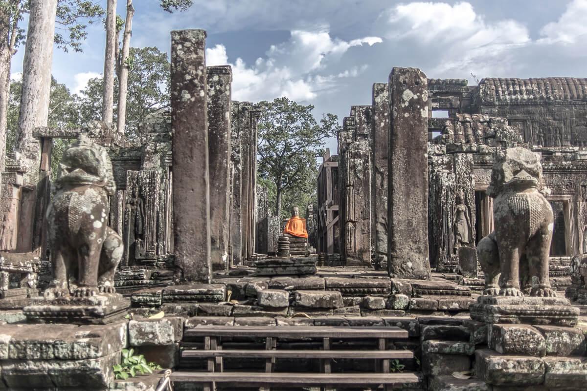 Stone Monk Cambodia