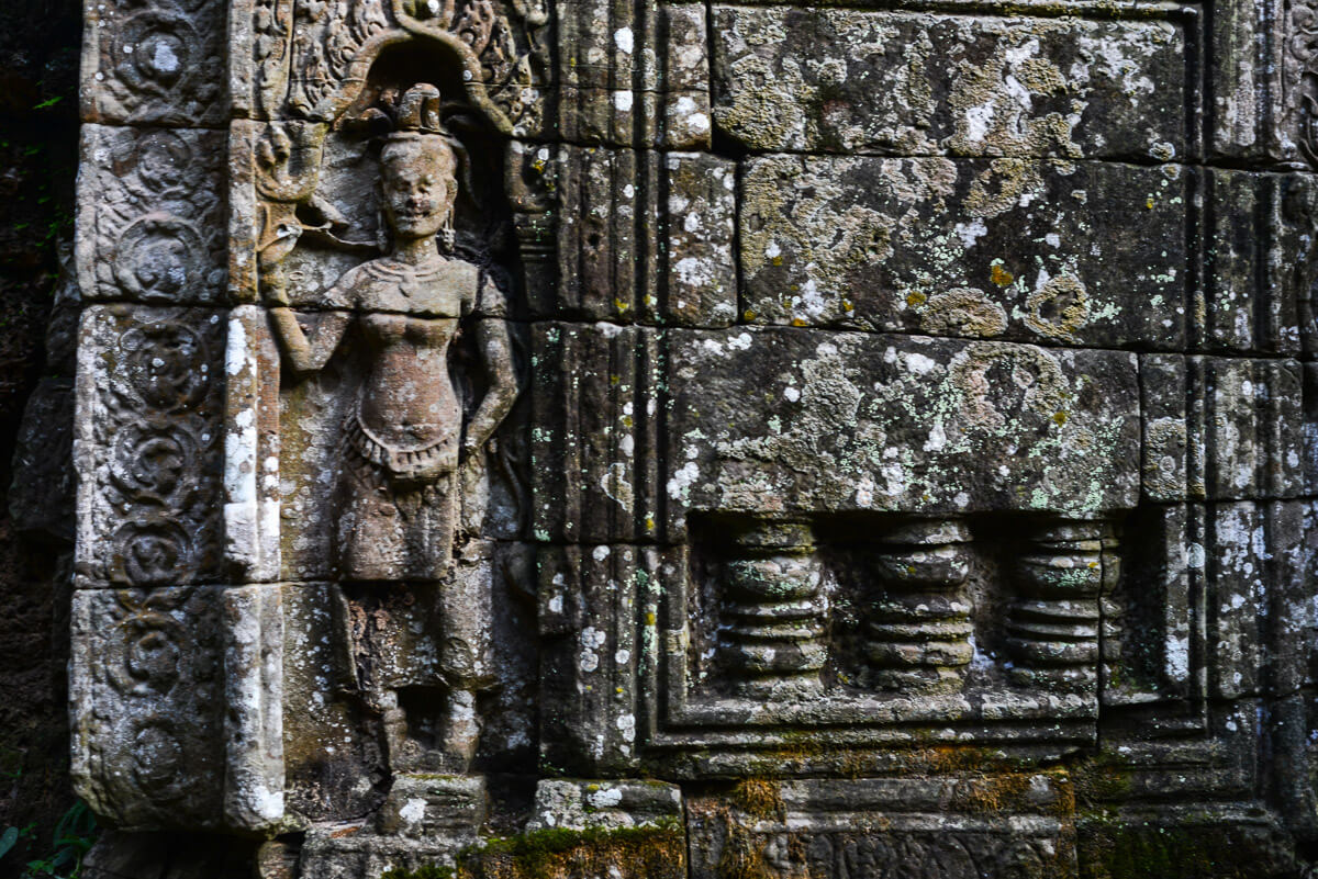Angkor Wat decorations
