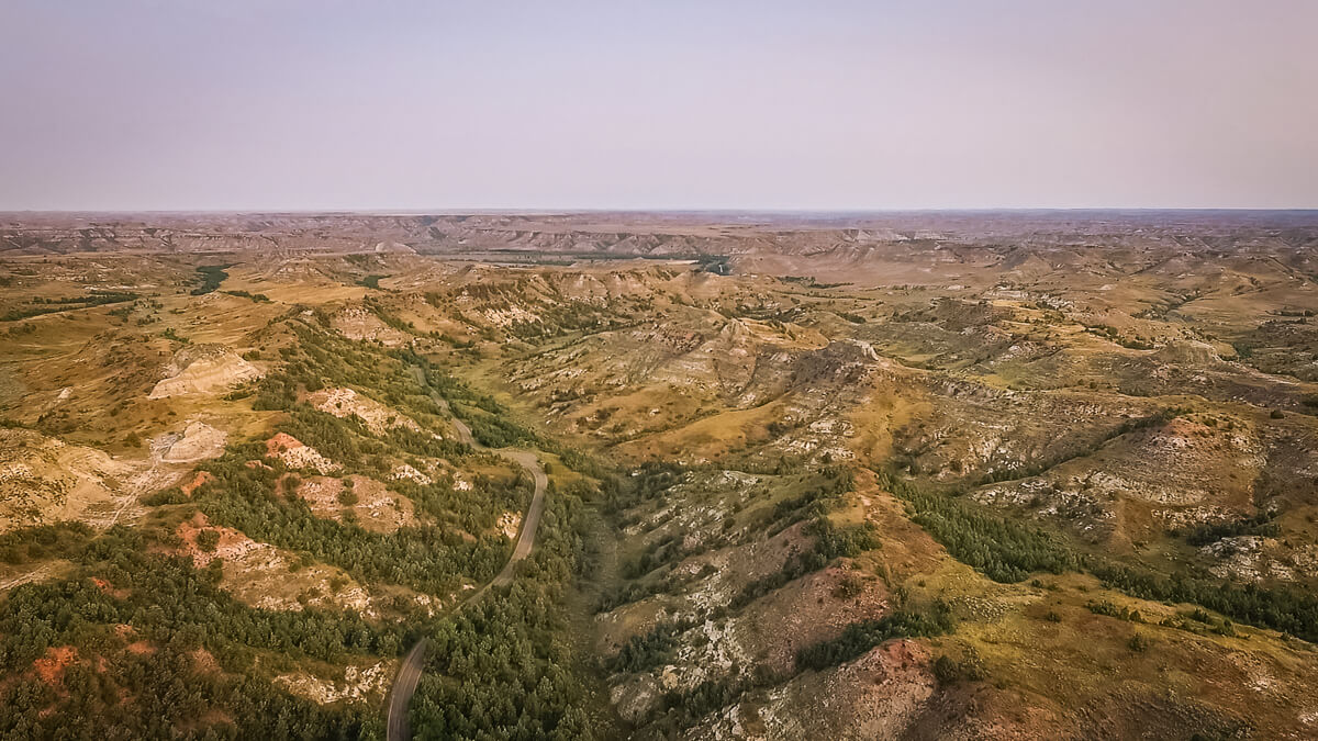 North Dakota Theodore Roosevelt National Park