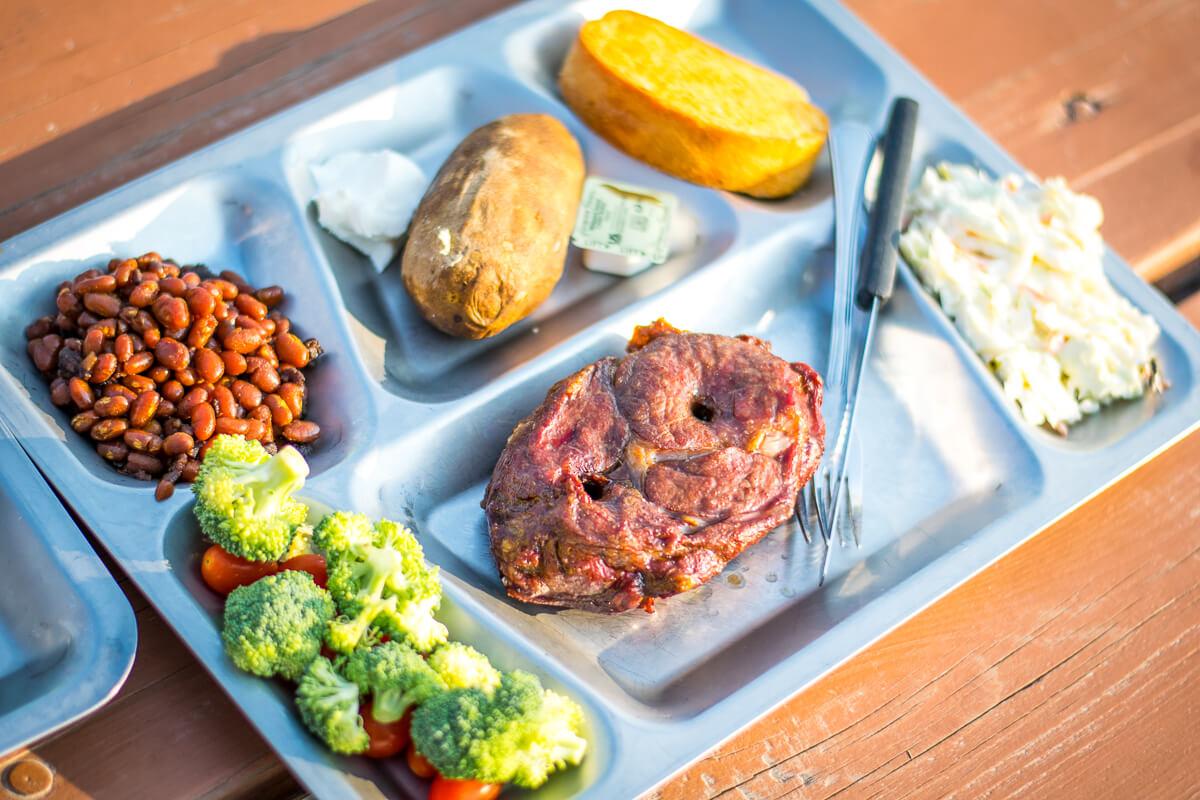 Medora pitchfork steak