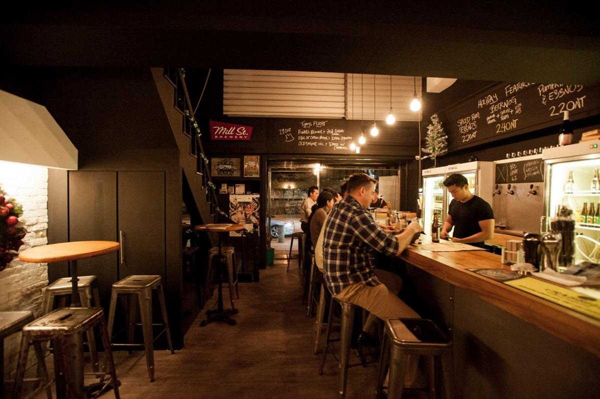 Brew pub in Taipei
