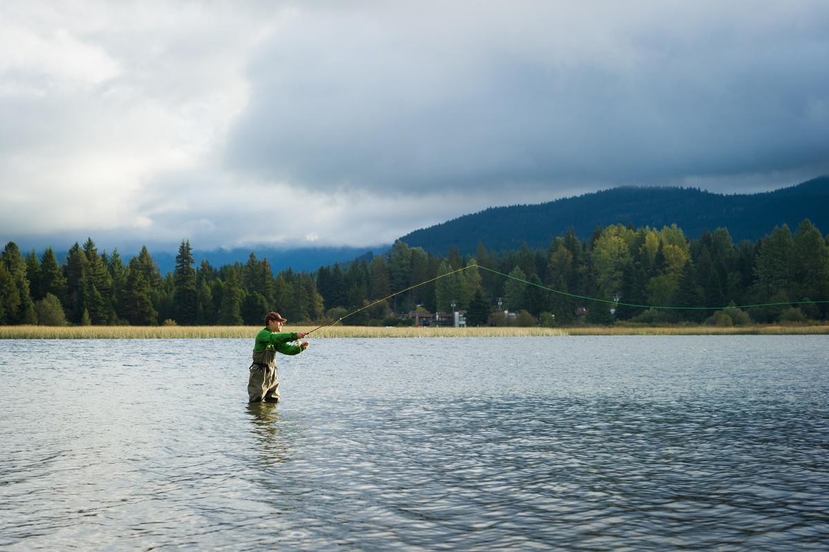 Fall Fishing near Whistler
