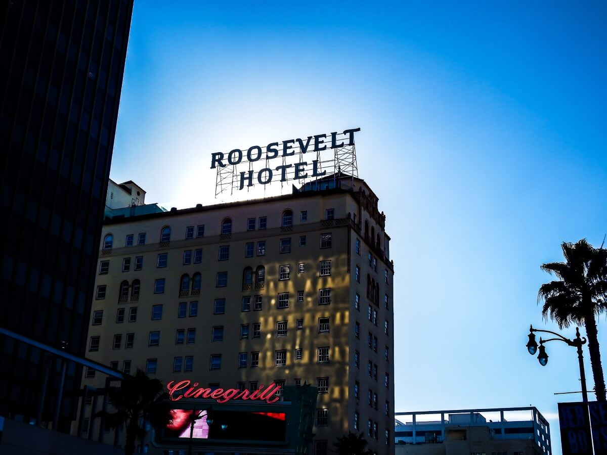 Roosevelt Hotel haunted