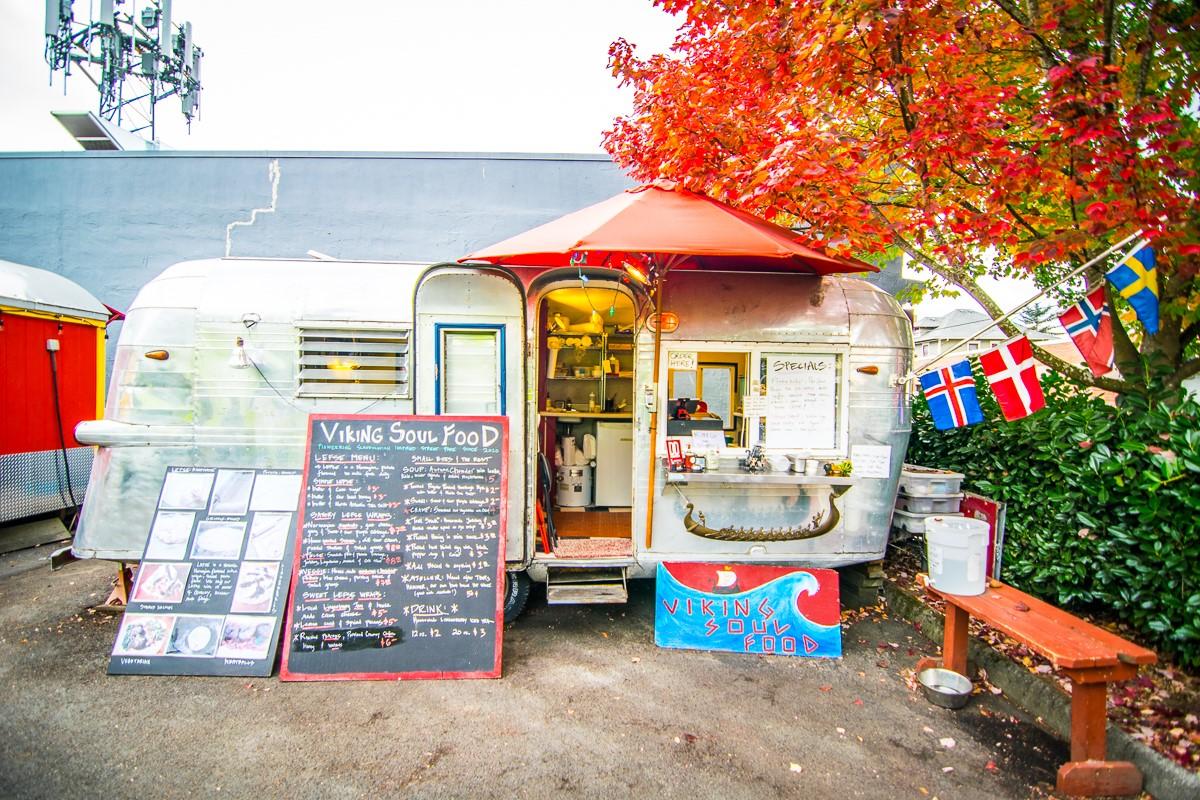Portland food truck scene