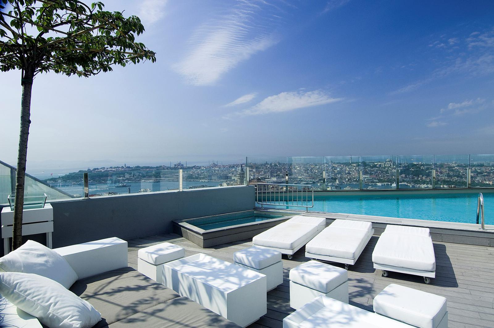 mejores terrazas de hoteles The Marmara Pera