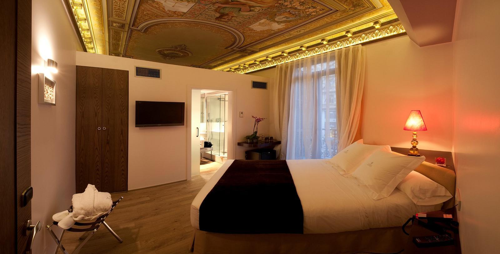 6 hoteles en espa a para s lo adultos for Hoteles barcelona habitaciones cuadruples
