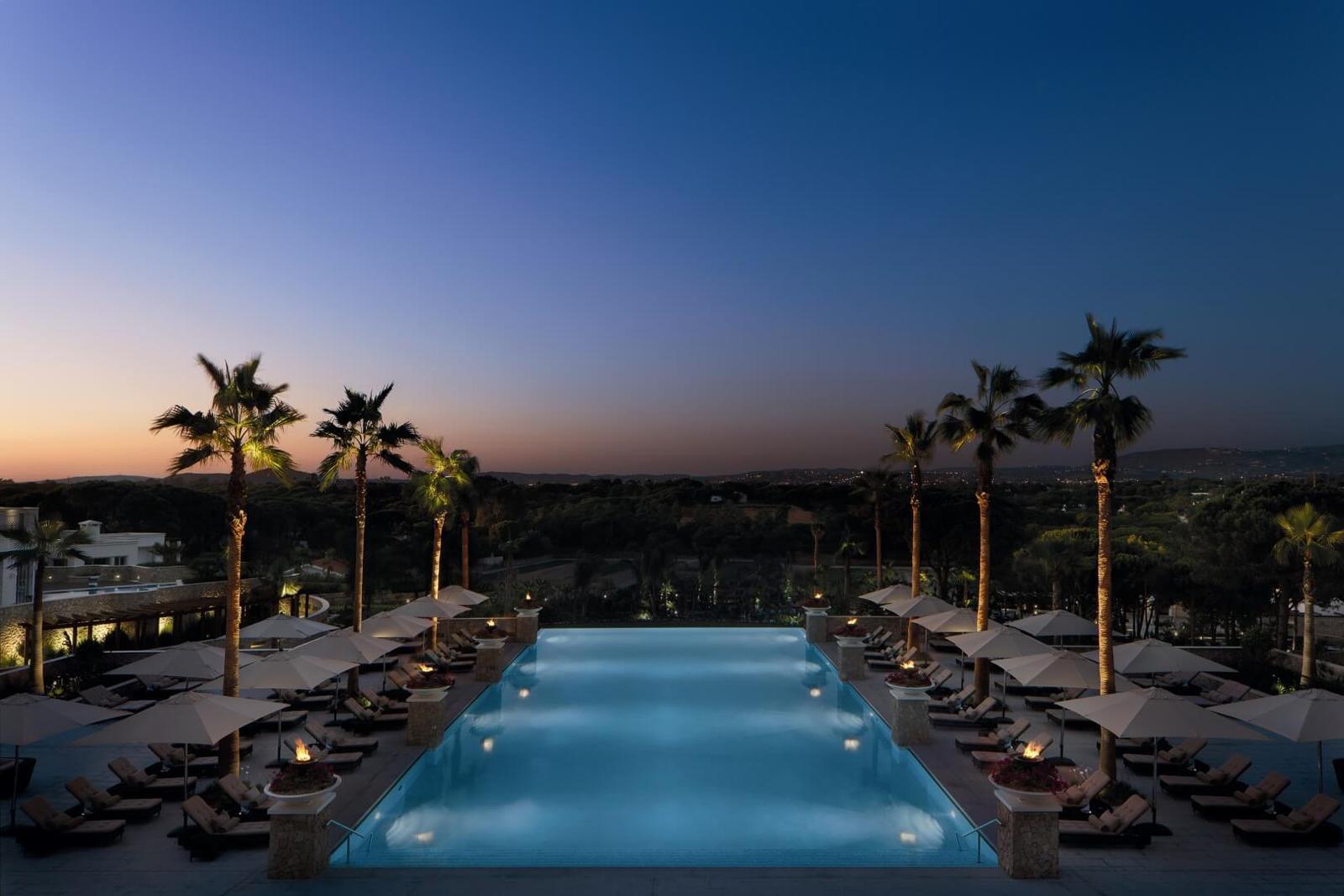 Hoteles con las mejores infinity pool de espa a y portugal for Hoteles segovia con piscina